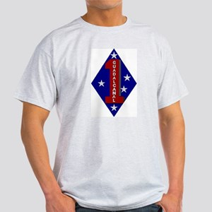 1st Marine Division Light T-Shirt