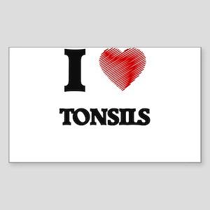 I love Tonsils Sticker
