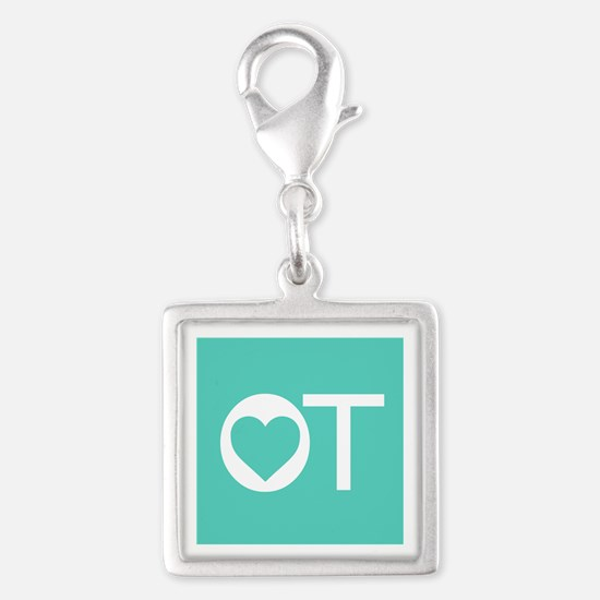 OT Occupational Therapy Heart Charms