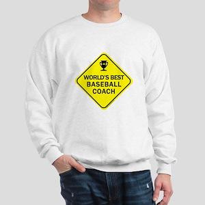 Coach Baseball  Sweatshirt