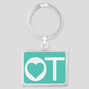 OT Occupational Therapy Heart Keychains