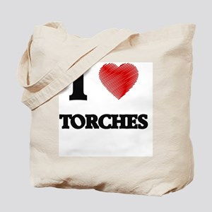 I love Torches Tote Bag