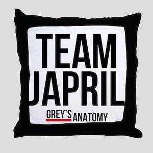 Grey's Anatomy: Team Japril Throw Pillow
