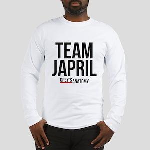 Grey's Anatomy: Team Japril Long Sleeve T-Shirt