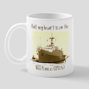 3-USS Ponce (LPD 15) Mugs