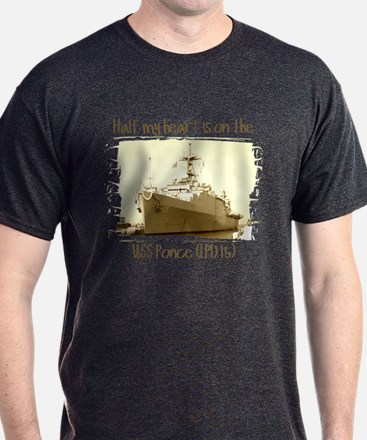3-USS Ponce (LPD 15) T-Shirt