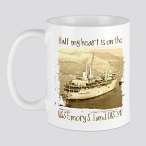 3-USS Emory S. Land (AS 39) Mugs