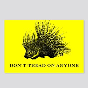 """Don't Tread On Anyone"" Postcards (Package of 8)"