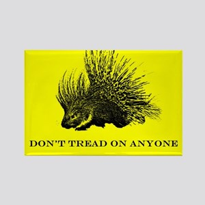 """""""Don't Tread On Anyone"""" Rectangle Magnet"""