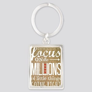 Millions Portrait Keychain
