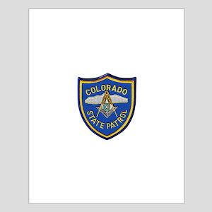 Colorado State Patrol Mason Posters