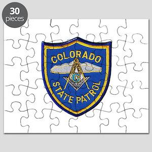 Colorado State Patrol Mason Puzzle
