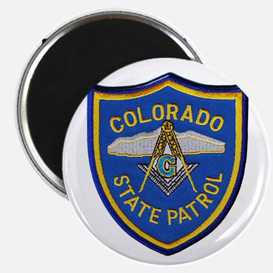 Colorado State Patrol Mason Magnets