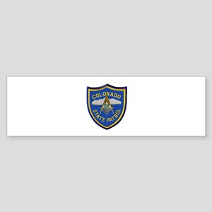 Colorado State Patrol Mason Bumper Sticker