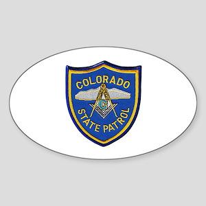 Colorado State Patrol Mason Sticker