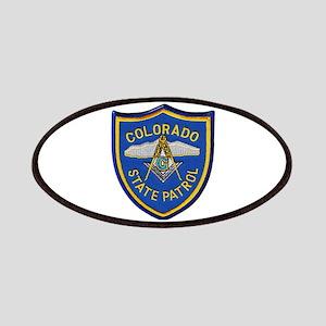 Colorado State Patrol Mason Patch