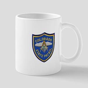 Colorado State Patrol Mason Mugs