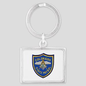 Colorado State Patrol Mason Keychains