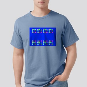 Soccer Desiger Blue Football Futbol 23a T-Shirt