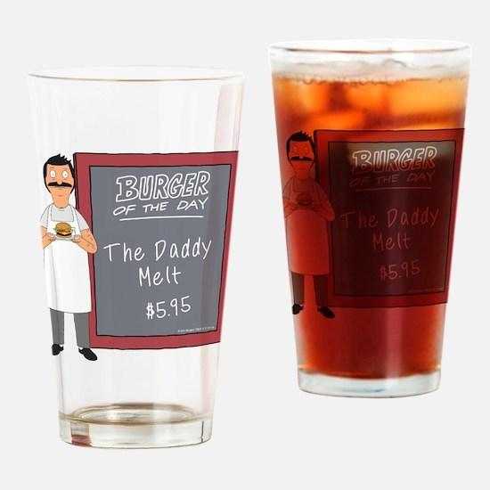 Bob's Burgers Daddy Melt Drinking Glass