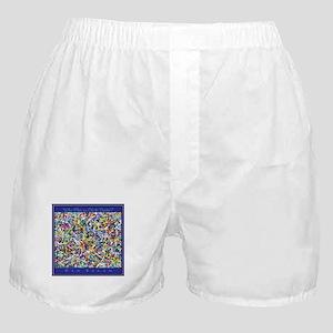 Who Flies in Chalk Socks? Boxer Shorts