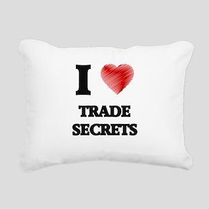 I love Trade Secrets Rectangular Canvas Pillow
