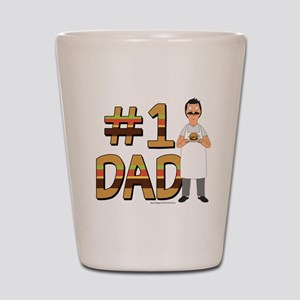 Bob's Burgers #1 Dad Shot Glass
