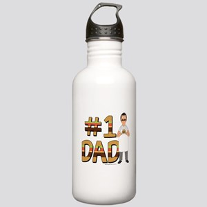 Bob's Burgers #1 Dad Stainless Water Bottle 1.0L