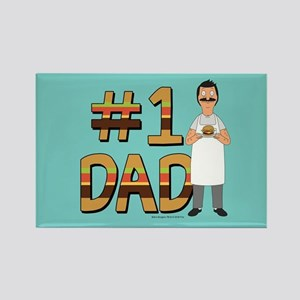 Bob's Burgers #1 Dad Rectangle Magnet