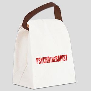 PSYCHOtheRAPIST Canvas Lunch Bag
