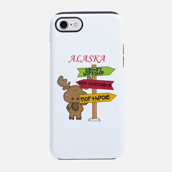 Alaska Moose What Way To The iPhone 8/7 Tough Case