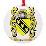 Seares Round Ornament