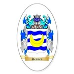Seamen Sticker (Oval 50 pk)