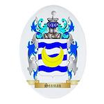 Seaman Oval Ornament