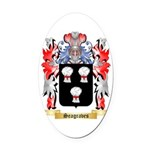 Seagraves Oval Car Magnet