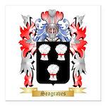 Seagraves Square Car Magnet 3