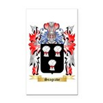Seagrave Rectangle Car Magnet