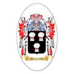 Seagrave Sticker (Oval 50 pk)