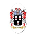 Seagrave 35x21 Oval Wall Decal