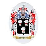 Seagrave Oval Ornament