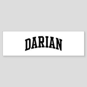 DARIAN (curve) Bumper Sticker