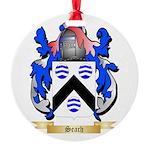 Seach Round Ornament
