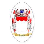 Scuotto Sticker (Oval)