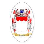 Scuotto Sticker (Oval 50 pk)