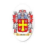 Scully Oval Car Magnet