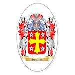 Scullion Sticker (Oval 50 pk)