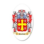 Scullion 35x21 Oval Wall Decal