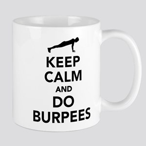 Keep calm and do burpees Mug