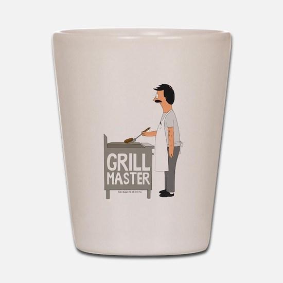 Bob's Burgers Grill Master Shot Glass