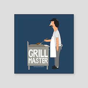 """Bob's Burgers Grill Master Square Sticker 3"""" x 3"""""""